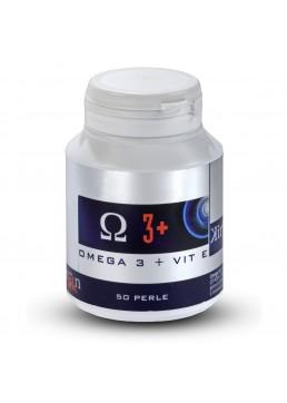 Kiron Omega 3+ olio di pesce dei mari del Nord ad alta concentrazione con Vitamina E di origine vegetale per una regolare funzio