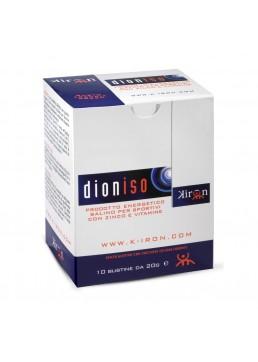 Kiron Dioniso integratore energetico salino per recuperare le sostanze perse con la sudorazione con zinco e antiossidanti