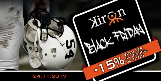 ARRIVA IL KIRON BLACK FRIDAY