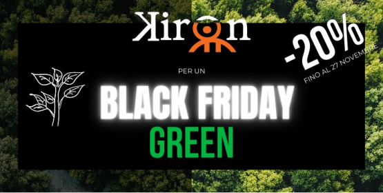 Il BLACK FRIDAY si tinge di GREEN con Kiron!