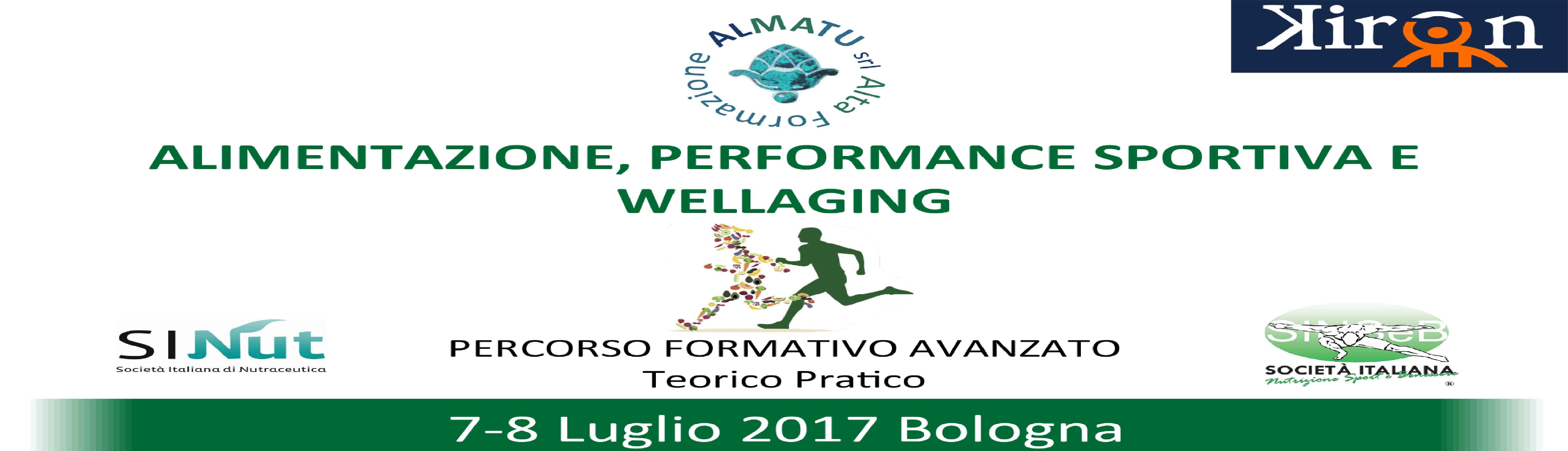 """Alimentazione, performance sportiva e wellaging"""