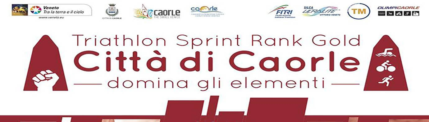 Kiron alla Triathlon Sprint Rank Gold di Caorle